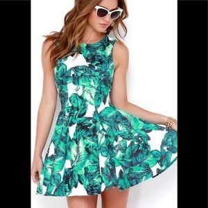 Lulu's Leaf it to Chance Dress M